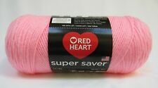 Red Heart Super Saver Yarn 100% Acrylic 7 oz In Petal Pink