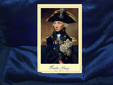 HORATIO LORD NELSON Vice Admiral British Naval Legend Cabinet Card Photograph
