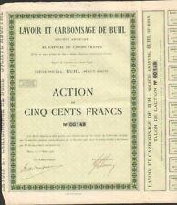 RARE => LAVOIR & CARBONISAGE DE BUHL (68)  (W)