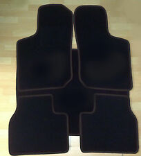 Alfombras tapices set para peugeot 206 cc 2001-2007 ajuste auto alfombras esteras 4 piezas