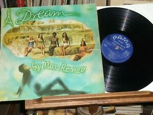 MAX ROMEO A Dream With PAMA PMLP 11 1969 Original Vinyl LP STEREO Unity V Worn!