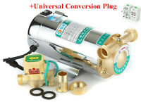 100W 220V Self Priming sink facucet Shower Pressure Water Booster Stainless Pump
