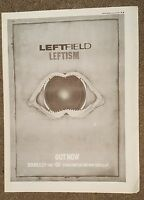 Leftfield Leftism 1995 press advert Full page 27 x 38 cm mini poster