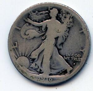 Walking Liberty half 1916-s (obverse) SEE PROMO)