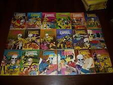 KRIMINAL DOSSIER 1/18 COMPLETA Ed. CORNO 1977 ORIGINALE - EDICOLA !!