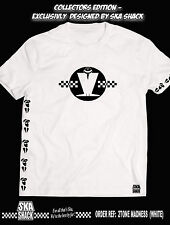 Madness T Shirt. Collectors Edition. Limited Run. Exclusive to Ska Shack. white