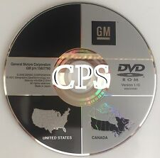 Genuine 2007 2008 2009 Cadillac SRX DTS GPS Navigation DVD Map v1.10 U.S Canada