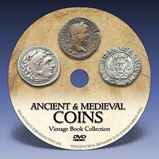 ANCIENT & MEDIEVAL COINS - 180 Rare Books on DVD! - Greek Roman Numismatics