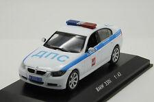 RARE !! BMW 3er Police Milicya Russian Custom Made 1/43