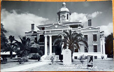 1965 Realphoto Postcard: Courthouse - Inverness, Florida FL
