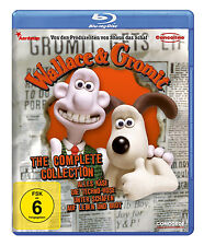 Blu-ray * Wallace & Gromit - Complete Collection # NEU OVP $