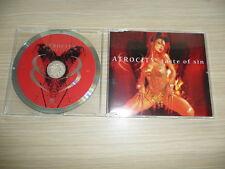 @ CD-SINGLE ATROCITY - TASTE OF SIN +3 / MOTOR MUSIC 2000 / 587 787 2
