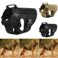 Military Tactical Dog Harness With Handle No-pull Large Working Vest Training