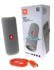 JBL FLIP 4 Bluetooth Lautsprecher Soundbox Wasserfest Freisprechen Musik Grau