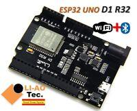 ESP-32 ESP32 ESP32S WiFi & Bluetooth 4MB Flash UNO D1 R32