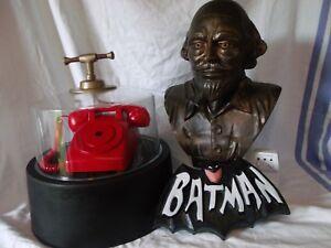Batman tv show 1966 Batphone w/ base & cover sound efx Shakespeare Prop