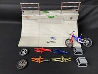 Tech Deck Fingerboard Skate Park Flick Trix Ditch Ramp Bike Frames & Parts