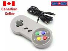 USB Controller for SNES Super Nintendo Games Retro Classic Gamepad 4FT