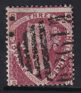 GB QV 1870 1.5d LAKE RED PLATE 1 -SG52 fine used