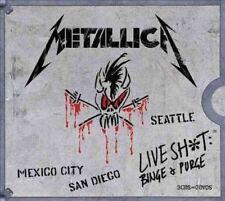 Live SHT Binge & Purge 0856115004521 by Metallica CD