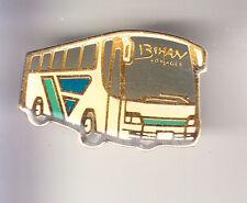 RARE PINS PIN'S .. CAMION TRUCK AUTOCAR AUTOBUS BUS COACH BIHAN FINISTERE 29 ~CC
