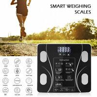 Digital Personenwaage Körperwaage Körperfettwaage Körperanalysewaage bis 150kg