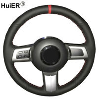 Hand Sewing Car Steering Wheel Cover For Mazda MX-5 2009-2014 RX-8 2013 CX-7