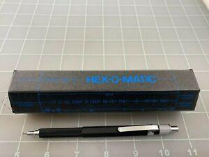 Judd's NEW Retro 51 Hex-O-Matic Black Mechanical Pencil HEX-601P