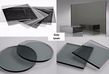 "1/8"" Gray Smoke Tint 713 Lexan Polycarb Sheet Vacuum-Forming .125"" x 48"" x 96"""