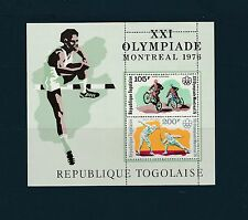Togo bloc  jeux olympiques de Montréal  de 1976    num:  94   **