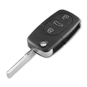 🇮🇹Guscio Chiave Cover Telecomando 3T CR1620 Auto PER AUDI Q5 A1 A3 A4 A6 A8**