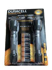NEW Duracell Durabeam Ultra 700 Heavy-Duty LED Flashlight 2-Pack Sealed