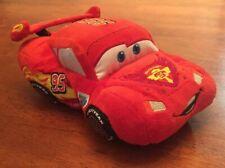 RARE Disney Store Exclusive Pixar Cars Lightning McQueen Plush