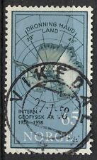 Norwegen 1957, NK 450 Sohn Vikedal 27-1-58 (RO)