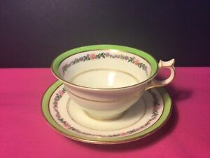 Vintage Crescent & Sons cup and saucer. Fine china