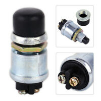 Universal Waterproof Momentary Ignition Push Button Starter Switch 60/40 Am3 CA