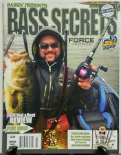 Bassin Presents Bass Secrets March 2016 Rod And Wheel Review FREE SHIPPING sb