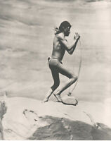 Navajo Warrior Stringing Bow, Roland Reed 8 x 10 Photo Library of Congress 1913