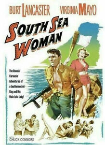 South Sea Woman DVD 1953 Burt Lancaster War Drama Movie Virginia Mayo