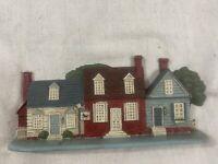Vintage - Cast Iron Doorstop - Houses - 1990