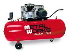 Compresor 3cv 400v depósito 250lt.10bares102kg Metalworks Galaxy 200-T trifasico