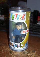 Minimates Star Trek Mr. Spock Action figure Art Asylum 2002 1st release canister