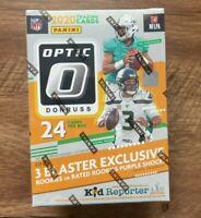 2020 Panini Donruss Optic NFL Football Blaster Box Factory Sealed Walmart