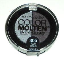 Maybelline Eye Studio Color Molten Eyeshadow Duo PLUM FUSION 305 Sealed