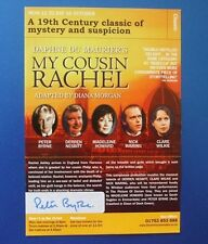 THEATRE FLYER MY COUSIN RACHAEL SIGNED BY PETER BYRNE [ DIXON OF DOCK GREEN ]