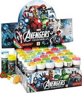 Avengers, bubble tub with maze, party bag fillers, multiples of 6