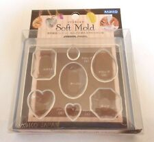 PADICO JEWELRY Soft Mold For UV Resin Hand Craft tool Made In JAPAN