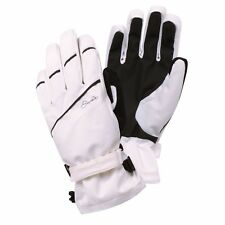 DARE 2B LADIES GRAPPLE SKI GLOVES SNOWBOARD WATERPROOF BREATHABLE WHITE MEDIUM