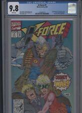 X-Force #7 CGC 9.8 Rob Liefeld FABIAN NICIEZA 1992 Cable