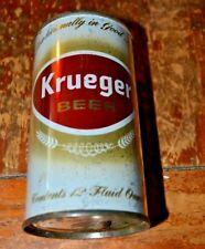 Krueger Beer Flat Top Beer Can Virginia Tax Stamp Lid